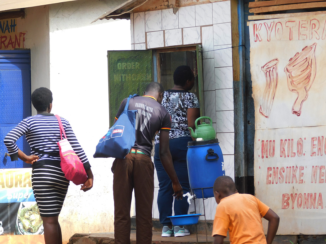 How Kampala's residents deal with coronavirus lockdown: tough measures